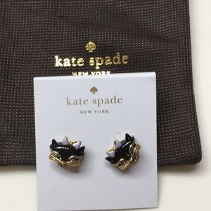 Kate Spade Kitty earrings
